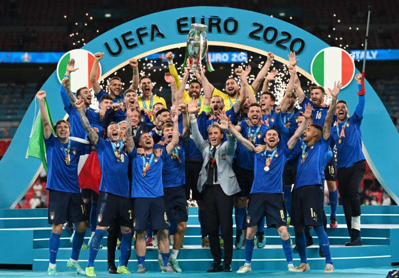 Nos pênaltis, Itália vence a Inglaterra e conquista a Eurocopa