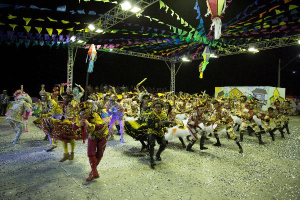 Cidade Junina levou música e emoção durante oito dias de evento