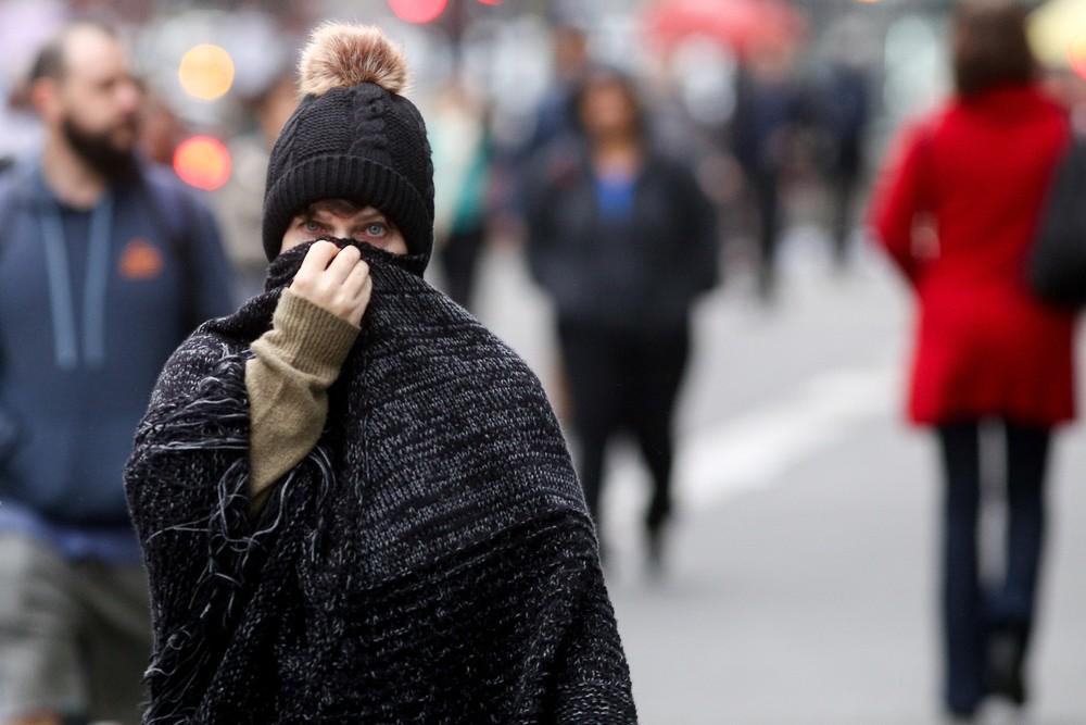Frio intenso chega ao Brasil na quarta-feira (28);