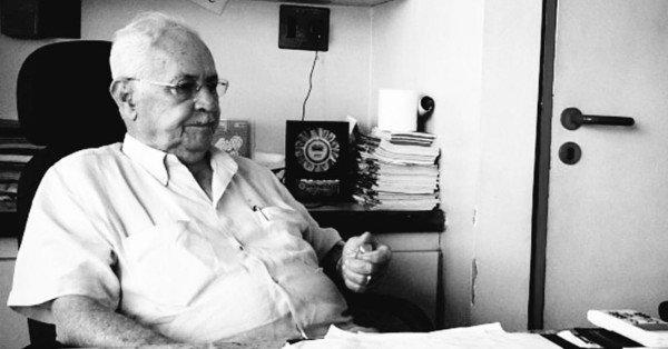 Morre aos 88 anos, o empresário e fundador da 'Dois Irmãos', Osvaldo Mendes
