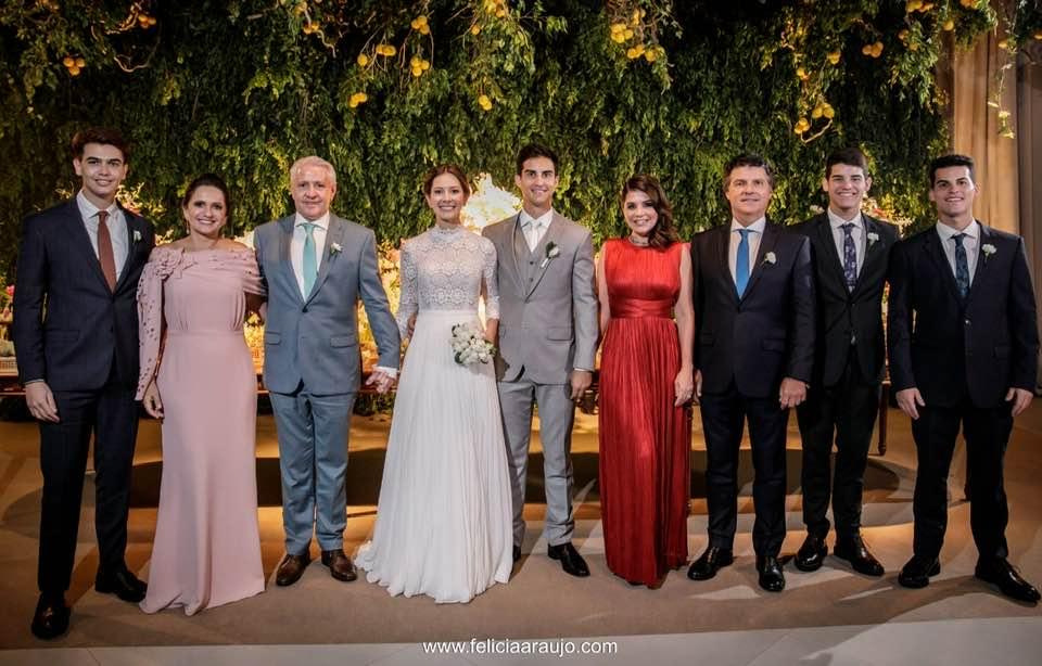 A Força da Notícia: Casamento de Gisa Sampaio e Mirócles Veras