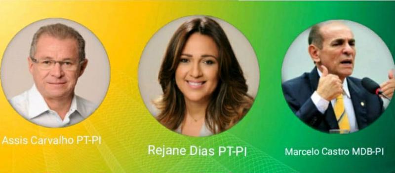 Três deputados do Piauí assinam requerimento para criar CPI contra a 'Lava Jato'