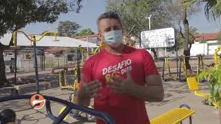 Ginástica na Praça: dicas de exercícios para fortalecimento da coxa do bumbum
