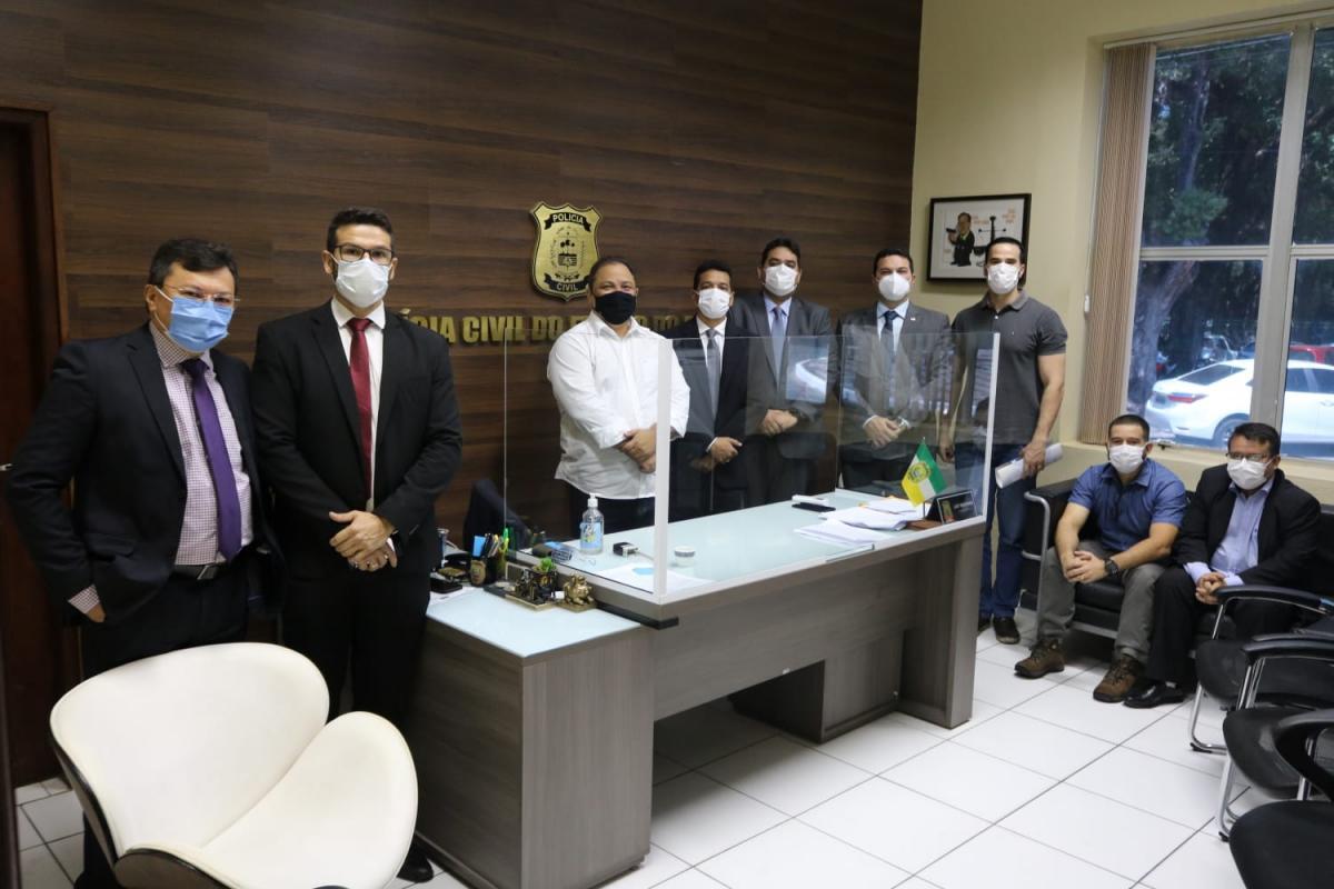 OAB Piauí pede à Delegacia-Geral medidas para garantir segurança de Advogado vítima de tentativa de homicídio