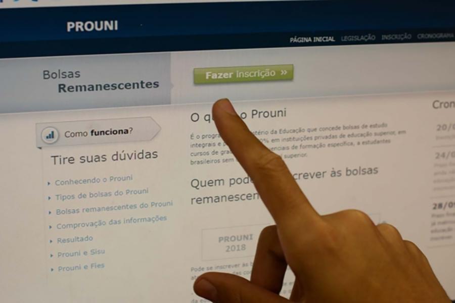 Abertas as inscrições para lista de espera do ProUni; confira