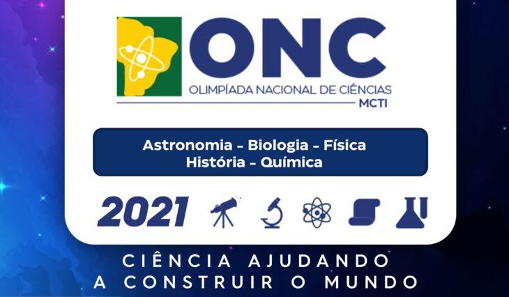 Alunos comemoram classificação para 2ª fase da Olimpíada Nacional de Ciências