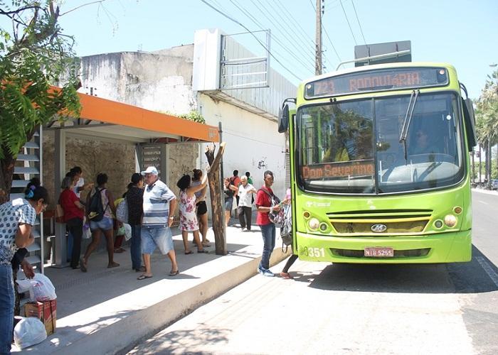 Frota de ônibus de Teresina será reduzida 40% durante o jogo do Brasil