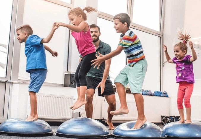 Os benefícios da atividade física para as crianças