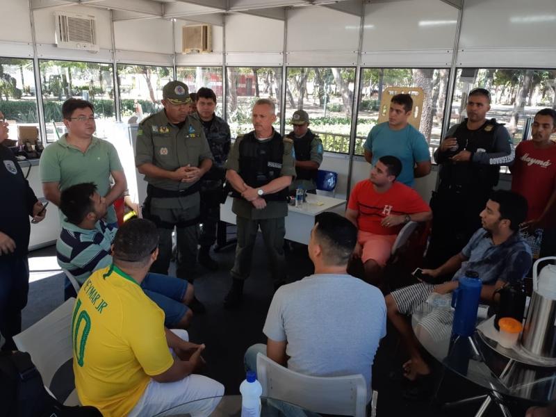 SSP estende comemorações no Saci em dias de jogos da Seleção