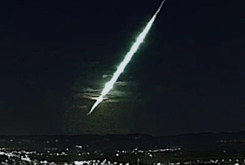 Moradores do interior do Piauí se assustam com meteoro que explodiu na atmosfera