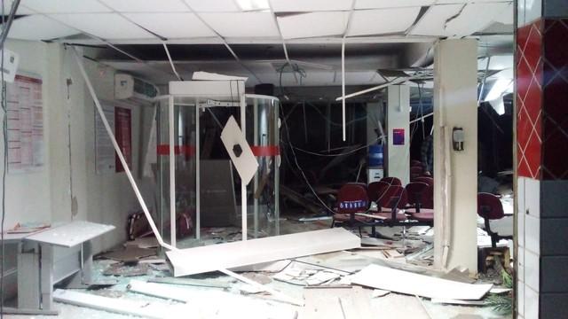 Agência bancária de Castelo do Piauí é alvo criminosos fortemente armados
