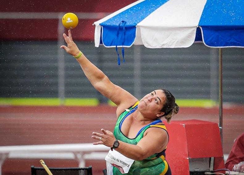 Brasil leva prata e bronze com Marivana e Mateus Evangelista na Paralimpíada
