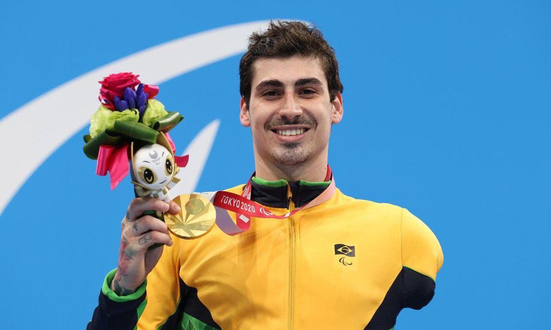 Talisson Glock fatura seu 1º ouro nos 400m livre em Tóquio
