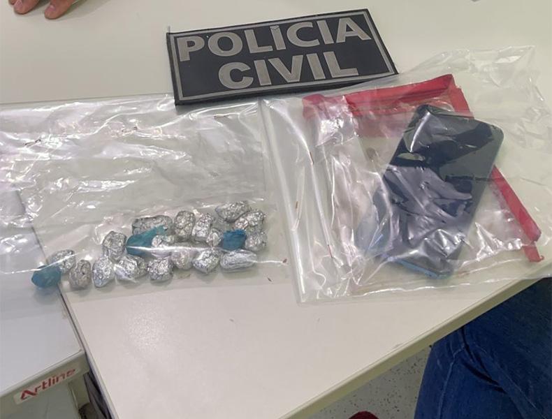Funcionário da Prefeitura de Parnaíba é preso suspeito de tráfico de drogas