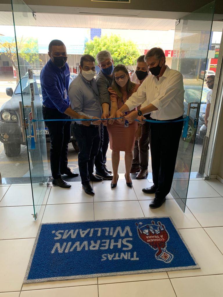 Nova paleta de cores: Sherwin-Williams inaugura loja conceito na zona sul de Teresina