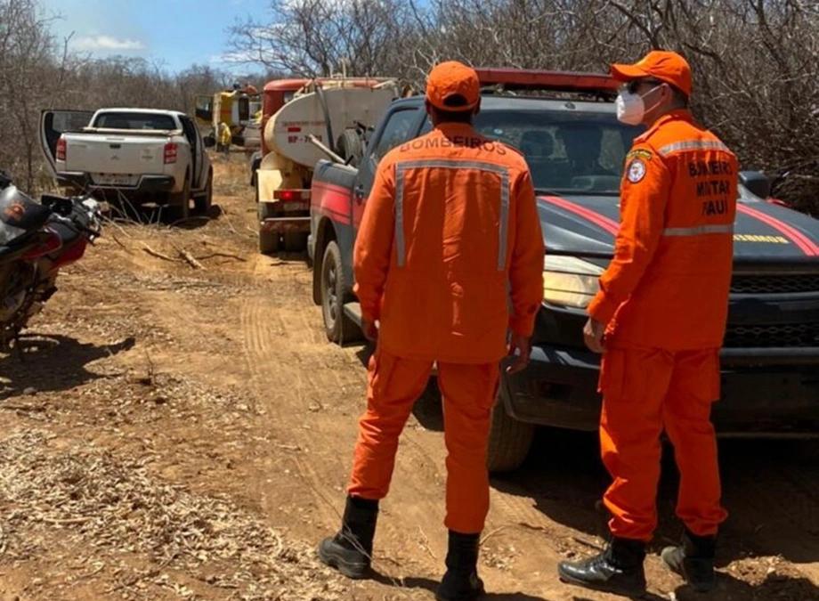 Governador faz apelo para que a população do Piauí evite queimadas