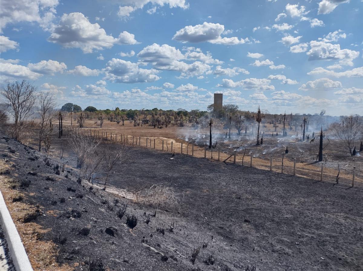 Princípio de incêndio ameaça monumento 'Heróis do Jenipapo'