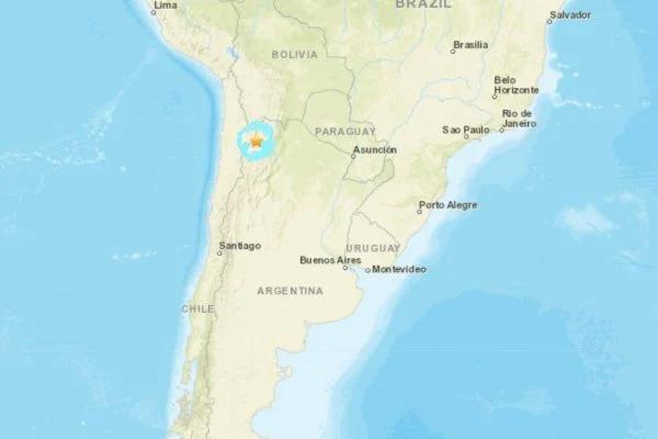 Terremoto de magnitude 6.2 atinge o norte da Argentina