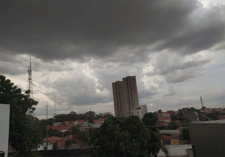 Previsão do tempo aponta para chuvas isoladas nesta quarta-feira em Teresina