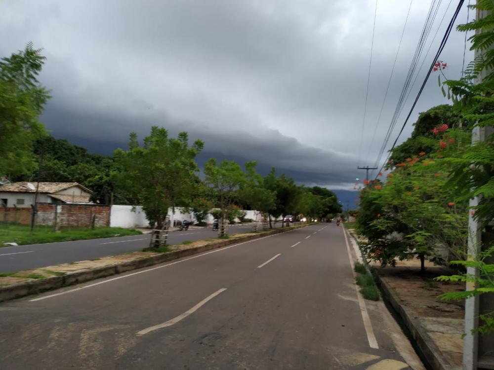 Previsão do tempo aponta para mais chuvas em Teresina nesta quinta-feira