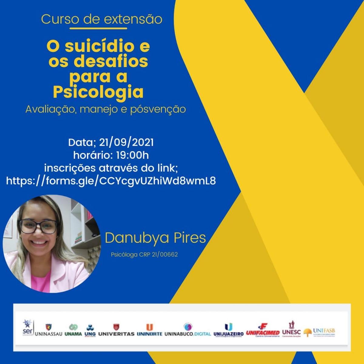 O suicídio e os desafios da psicologia são temas de curso on-line