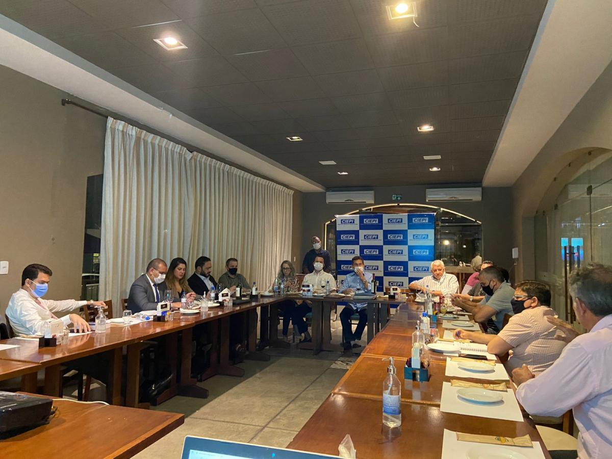 Setor industrial retoma reuniões presenciais e discutem ações de desenvolvimento para o setor no Piauí