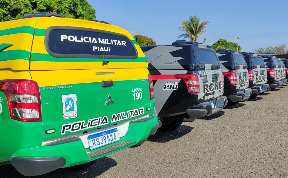 Forças de segurança do Piauí recebem novas viaturas e reforma do batalhão do RONE