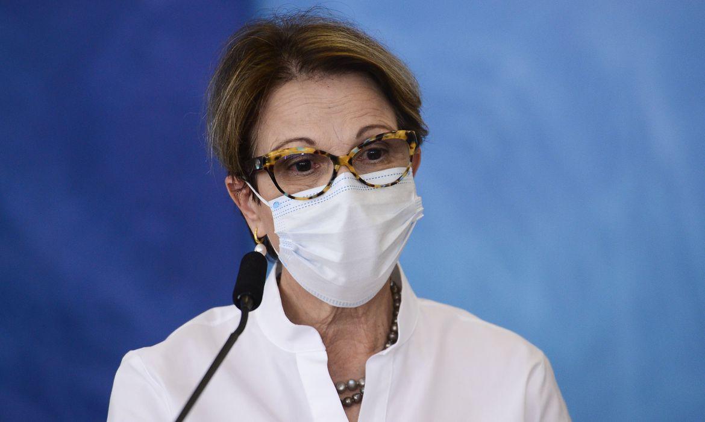 Ministra da Agricultura, Tereza Cristina é diagnosticada com covid-19
