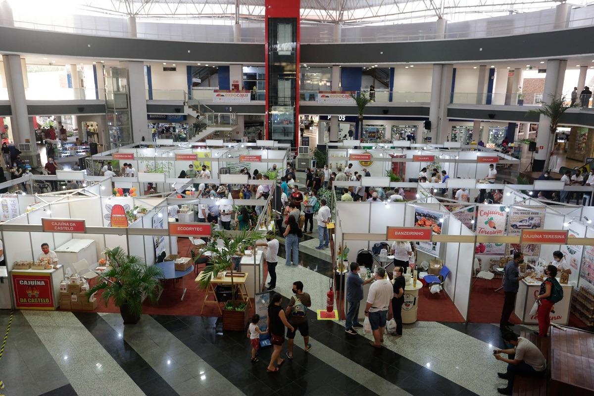 Expo Caju 2021 reuniu público de 40 mil pessoas durante três dias de evento