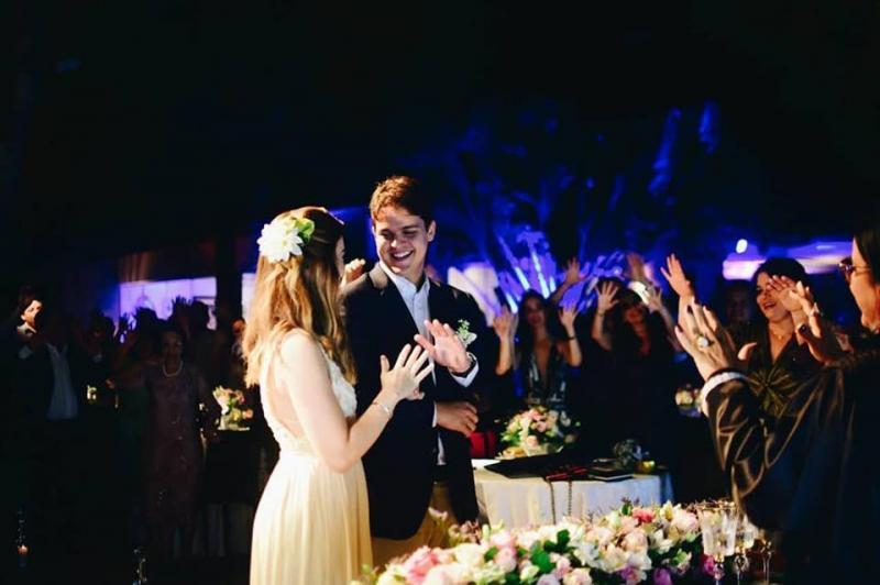 Casamento Daniel Carvalho & Lara Citó