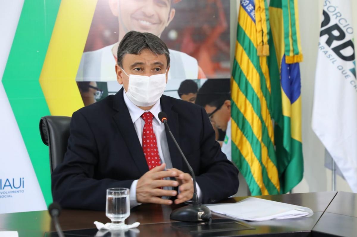 Wellington Dias avalia desobrigar uso de máscaras a partir de dezembro