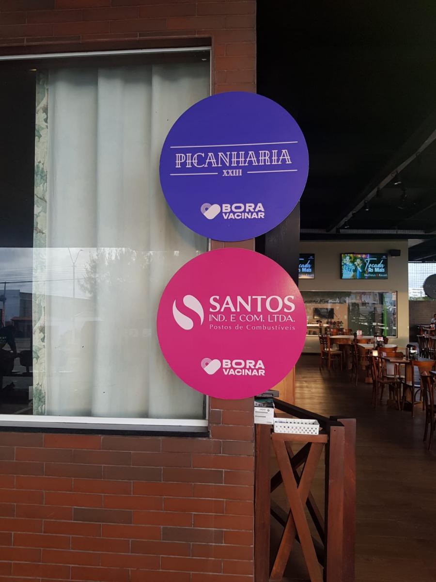 Grupo Santos apoia campanha Bora Vacinar em Parnaíba