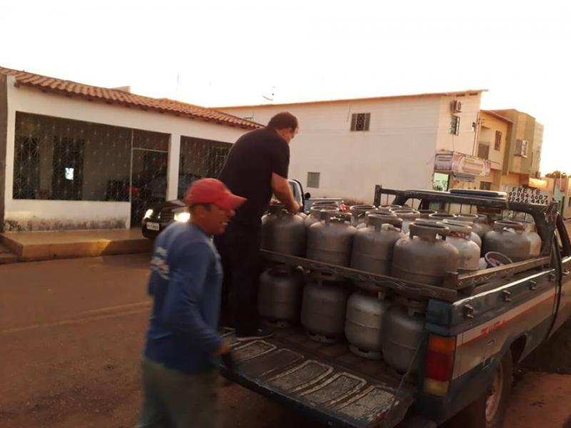 Procon realiza fiscalização em revendedoras de gás e postos de combustíveis em Picos