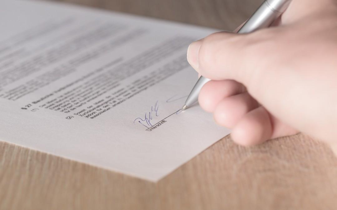 Para que serve Contrato de Vesting?