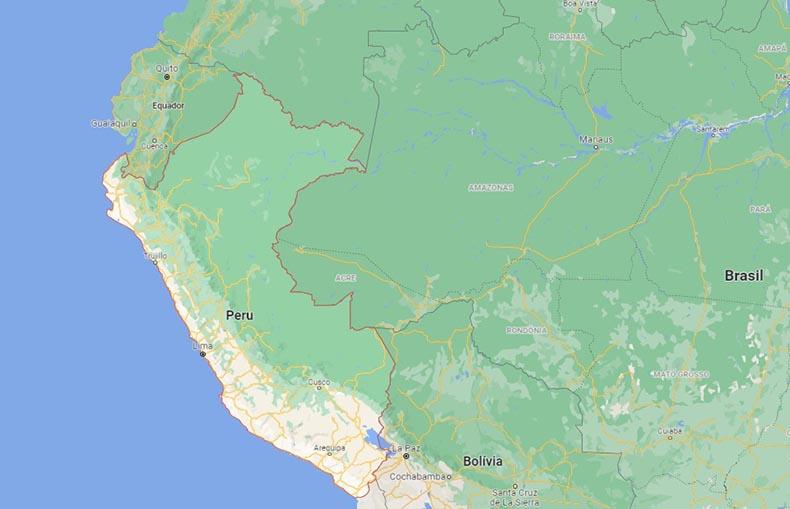 Terremoto de magnitude 5.7 no Peru é sentido no Norte do Brasil