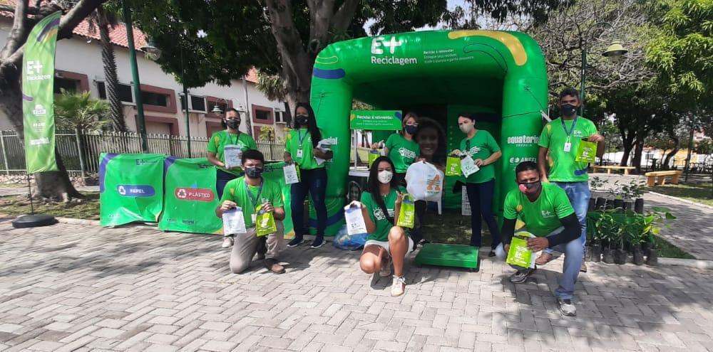 Programa de Reciclagem da Equatorial Piauí já recolheu 45 toneladas de resíduos