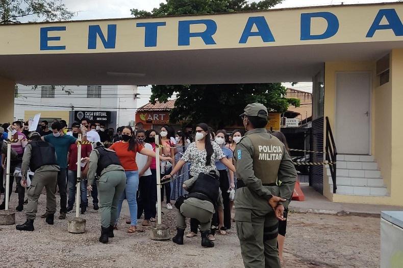 Primeira fase do concurso da Polícia Militar do Piauí tem 30% de abstenção