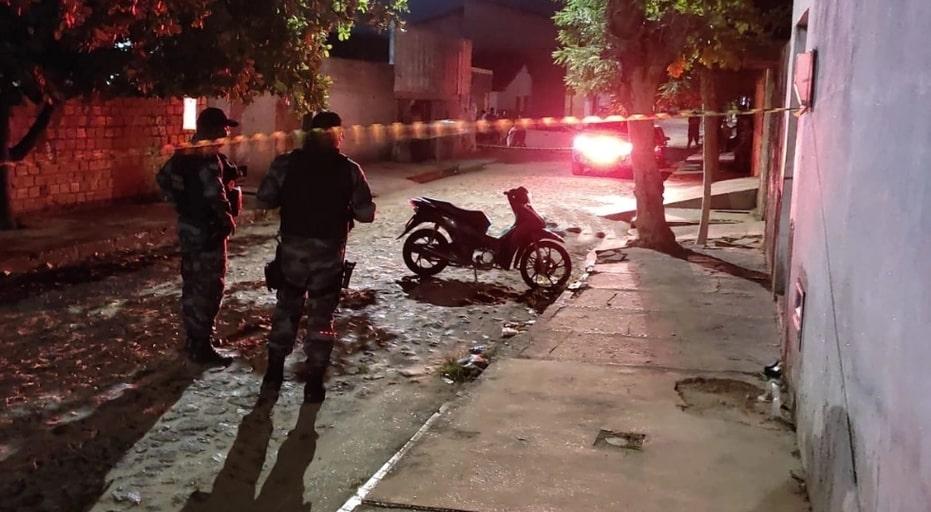 Suspeito de assalto é morto a tiros no bairro Dirceu