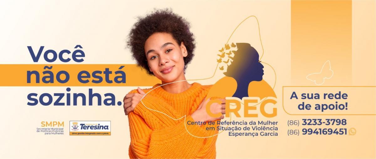 Em 2021, Teresina realizou mais de 1800 atendimentos às mulheres em situação de violência doméstica
