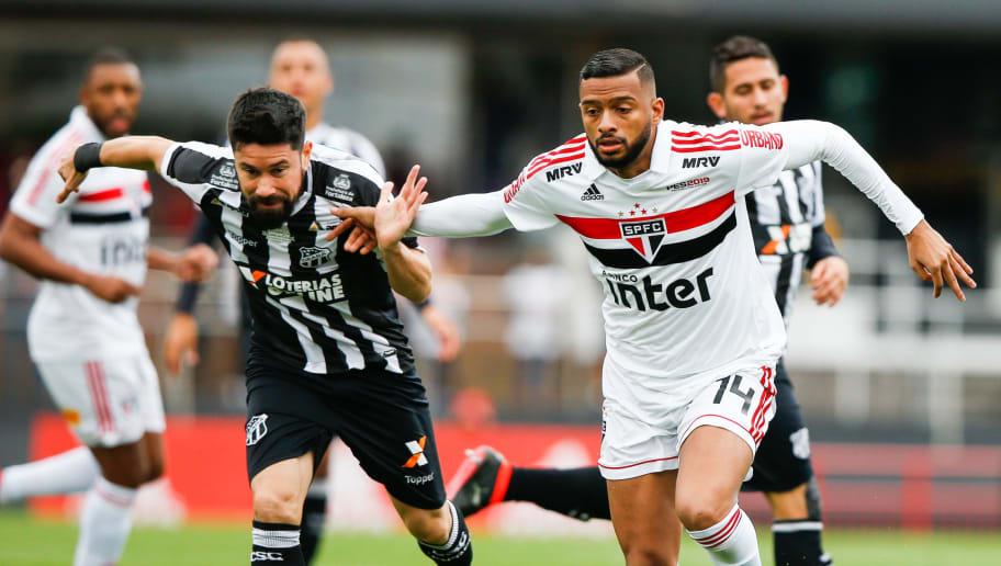 Na estreia de Rogério Ceni, São Paulo joga bem, mas empata com o Ceará