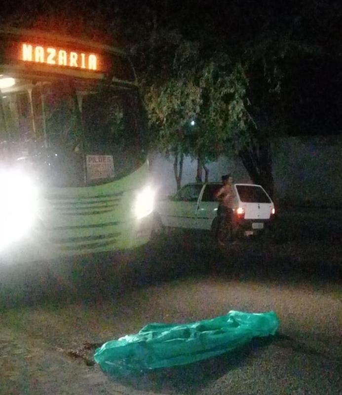 Motorista de ônibus atropela e mata pedestre na zona Sul