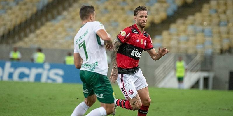 Flamengo empata sem gols com o Cuiabá em casa e fica a 10 pontos do líder Atlético-MG