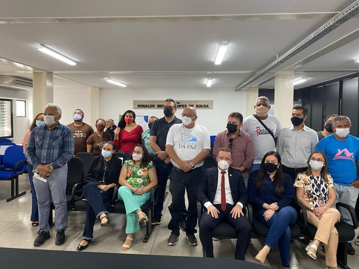 Fazenda da Paz participa de reunião para retomada do Projeto Ressocializar para Não Prender