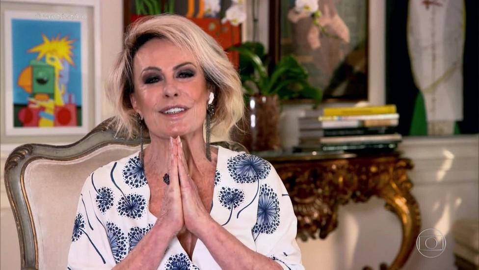 Aos 72 anos, Ana Maria Braga é hospitalizada após sofrer queda em casa