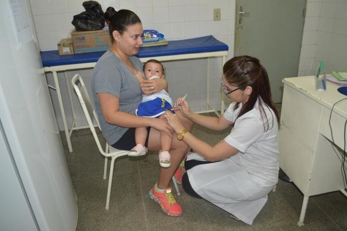 Teresina ultrapassa a meta de cobertura da vacinação contra a gripe