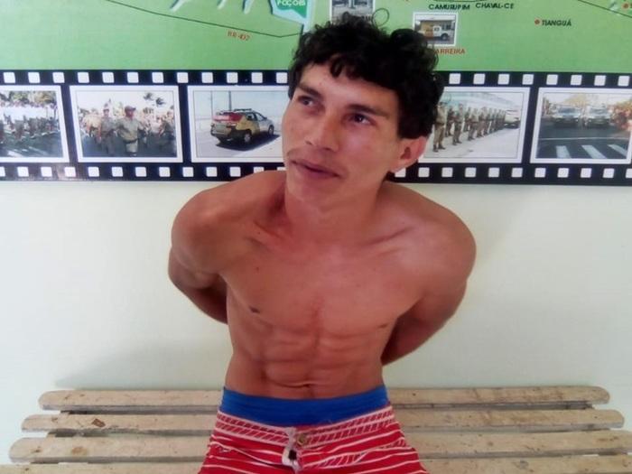 Preso homem acusado de roubar residências em Luís Correia