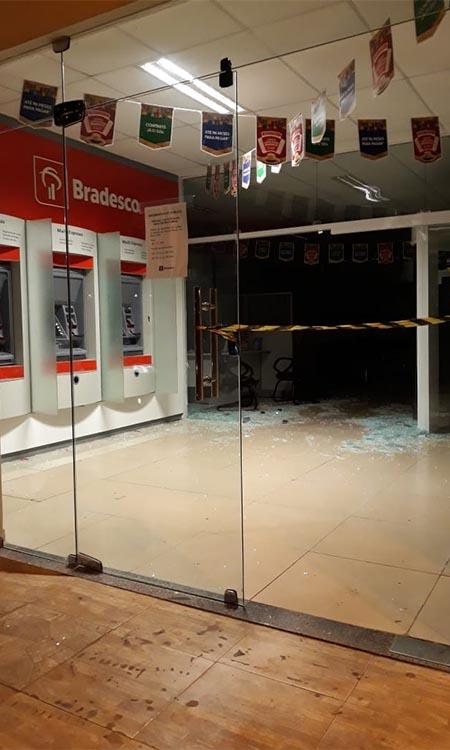 Agência bancária é alvo de ação de quadrilha no município de Altos