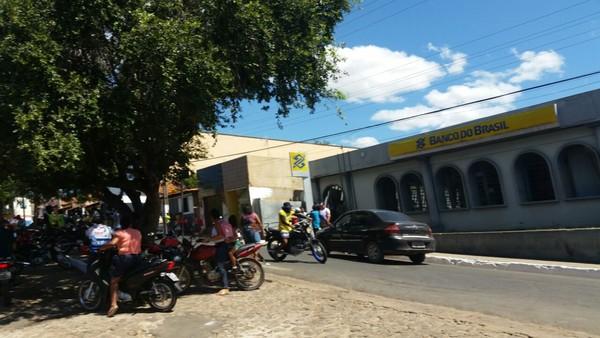 Polícia prende suspeito de assaltar o Banco do Brasil de Amarante