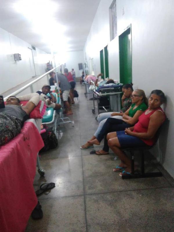 Paciente denuncia descaso em hospital público de Floriano