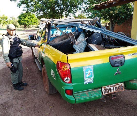 Homem é preso em flagrante suspeito de desmanche de carro roubado